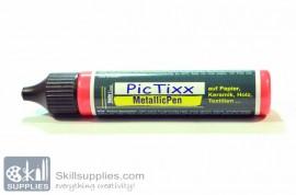 PicTixx MettalicPen Red