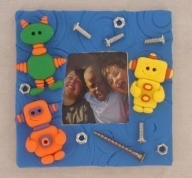 PolymerClay Kids Bright Orange images