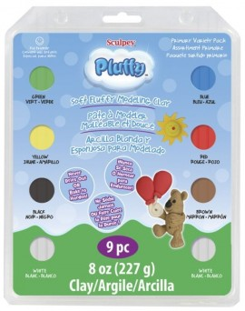 PolymerClay Kids Pluffy Multipack Primary images