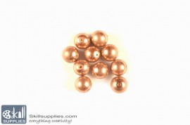 Round glass beads Pearls 5 images