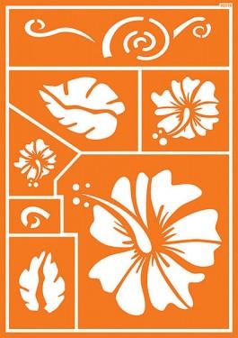 Textile stencil 8