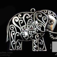 Antique finish Elephant 1