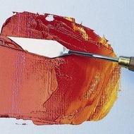 Artist painting knives No.4