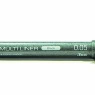 Copic Multiliner Black 0.05