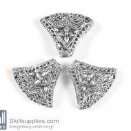 German Silver Bead 30