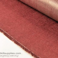 Jute Cloth Maroon - 4 Sq ft
