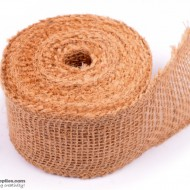 Jute ribbon 10 m Natural