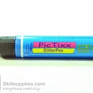 PicTixx GlitterPen Blue