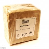 Pottery Clay Ceramic Low-fire White Art Clay No.25 (5kg)