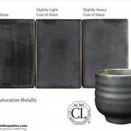 Pottery High Fire Glaze PC-01 Saturation Metallic