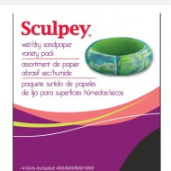 Sculpey Wet Dry Sandpaper Variety Pack