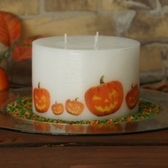 Varnish on Candle Satin