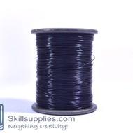 Nylon cord 0.3mm black,100 mts