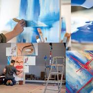 AcrylicPaint PortraitRose