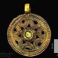 Antique gold finish Disc 1