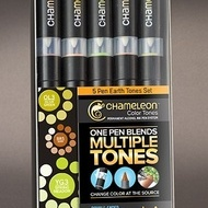 Chameleon 5 Pen EarthTones Set
