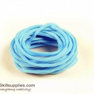 Craft cord light blue 5m