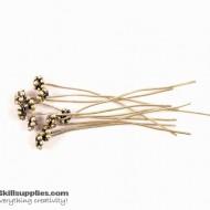 German Silver Head pin EN27