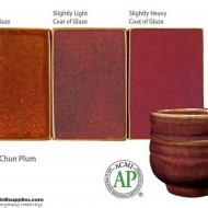 Pottery High Fire Glaze PC-55 Chun Plum