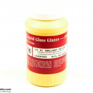 Pottery Low Fire Glaze LG-63 Brilliant Yellow