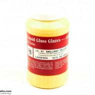 Pottery Low Fire Glaze LG-63 Brilliant Yellow