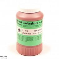 Pottery Underglaze V-313 Red Brown