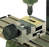 Precision steel vice