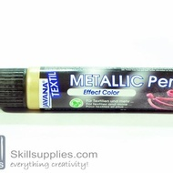 Textilepen Gold Metallic