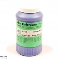 Pottery Underglaze V-336 Royal Blue