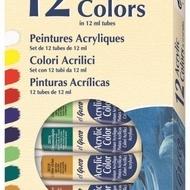 EG AcrylicColor Set12