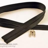 Zipper Black 2 ft Small