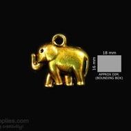 Antique gold finish Elephant 2