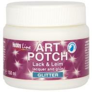Artpotch varnish&glue GlitterSilver