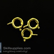 Clasp round 10mm FS3 ,20 pcs  gold