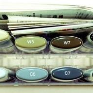 Copic WideSet C,12