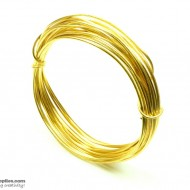 Jewellery Wire Gold ,Gauge No.16