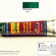 OilColour SapGreen