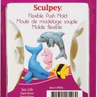 PolymerClay Mold SeaLife