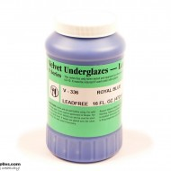 Pottery Underglaze V-336 Royal Blue