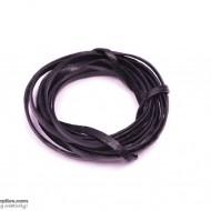 LeatherCord Black Flat2