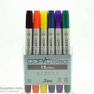 Copic Ciao BasicSet,12