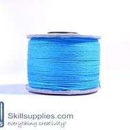 Cotton cord 0.5mm blue,10 mts