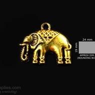 Antique gold finish Elephant 1