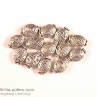 German Silver Bead 8