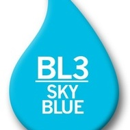 Ink Refill 25ml SkyBlue,BL3