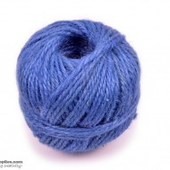 Jute Cord 50 m Irish Blue