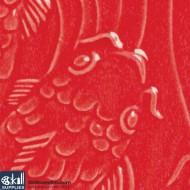 Pottery Low Fire Glaze LG-58 Brilliant Red