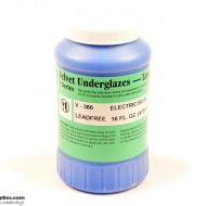 Pottery Underglaze V-386 Electric Blue