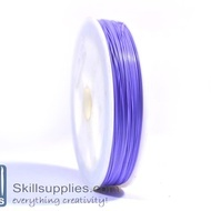 Tiger tail 0.45mm light purple,5 mts