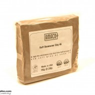 Pottery Clay Ceramic Mid/High-fire Buff Stoneware Clay 46 (1kg)